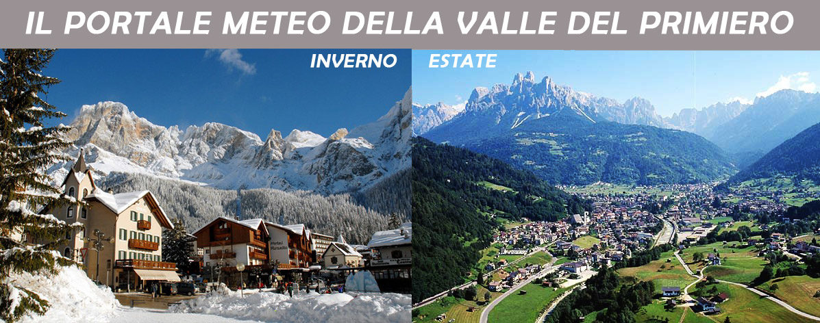 .:. PrimieroMeteo.it .:. Il portale meteo della Valle del Primiero